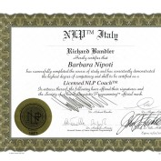 LICENSED NLP COACH 144570